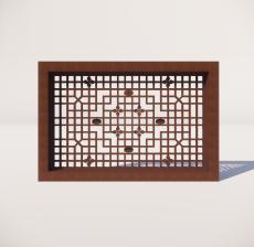 窗_011_室内设计模型