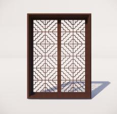 窗_012_室内设计模型