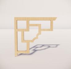 花角线花格_018_室内设计模型