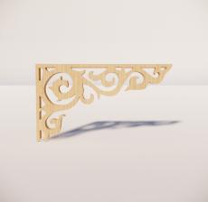 花角线花格_027_室内设计模型