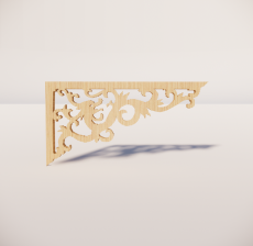 花角线花格_035_室内设计模型