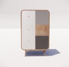 装饰柜_002_其他设计模型