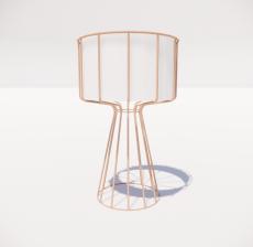 台灯11_Sketchup模型