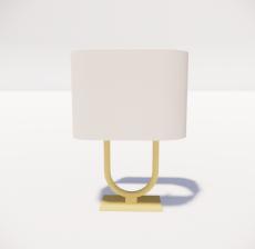 台灯12_Sketchup模型