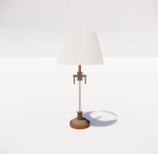 台灯14_Sketchup模型