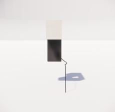 台灯15_Sketchup模型