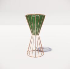 台灯17_Sketchup模型