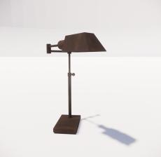 台灯18_Sketchup模型