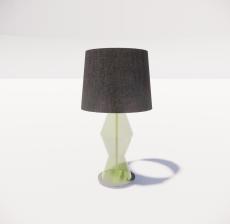 台灯19_Sketchup模型