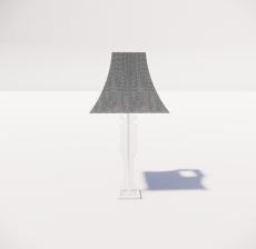 台灯20_Sketchup模型