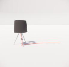台灯21_Sketchup模型