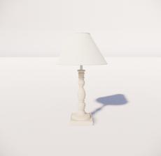 台灯22_Sketchup模型