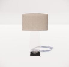 台灯23_Sketchup模型