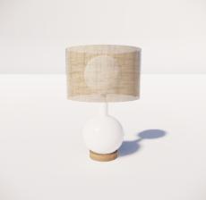 台灯29_Sketchup模型