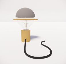 台灯2_Sketchup模型