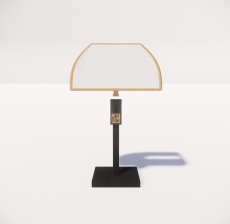 台灯33_Sketchup模型
