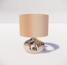 台灯36_Sketchup模型
