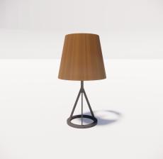 台灯42_Sketchup模型