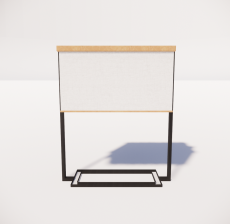 台灯43_Sketchup模型