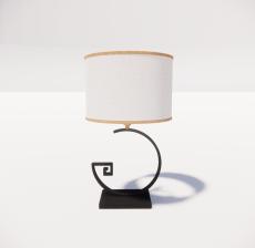 台灯48_Sketchup模型