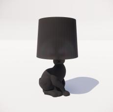 台灯49_Sketchup模型