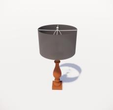 台灯52_Sketchup模型