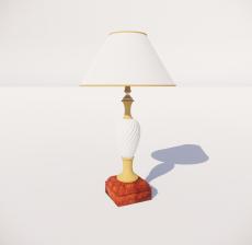 台灯5_Sketchup模型