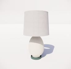 台灯64_Sketchup模型