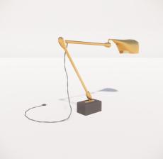 台灯66_Sketchup模型