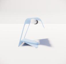 台灯69_Sketchup模型