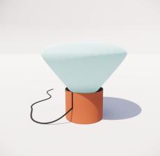 台灯71_Sketchup模型
