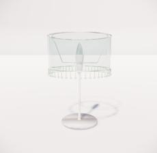台灯76_Sketchup模型