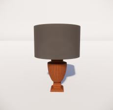 台灯78_Sketchup模型
