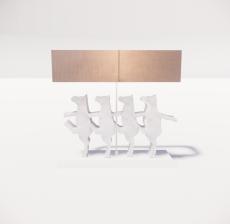 台灯7_Sketchup模型