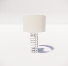 台灯81_Sketchup模型