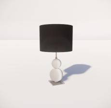 台灯86_Sketchup模型