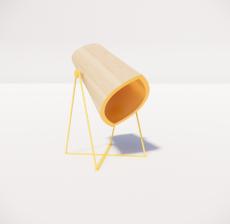 台灯87_Sketchup模型