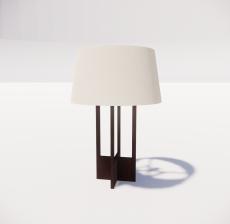 台灯89_Sketchup模型