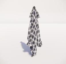 女士衣服1_Sketchup模型