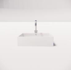 洗手盆2_Sketchup模型
