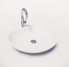洗手盆3_Sketchup模型