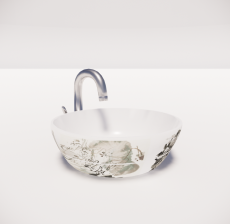洗手盆4_Sketchup模型