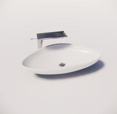 洗手盆6_Sketchup模型