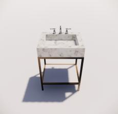 洗脸台2_Sketchup模型