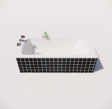 浴缸11_Sketchup模型