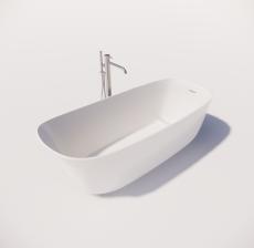 浴缸12_Sketchup模型