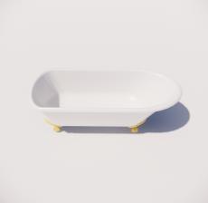 浴缸14_Sketchup模型