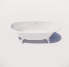浴缸1_Sketchup模型