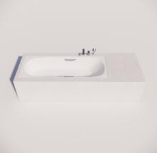 浴缸5_Sketchup模型