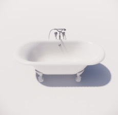 浴缸8_Sketchup模型